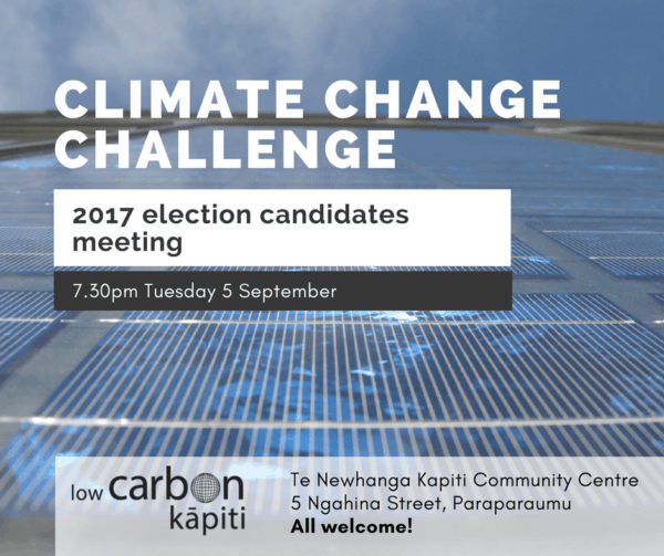 Ad for 2017 election candidates meeting